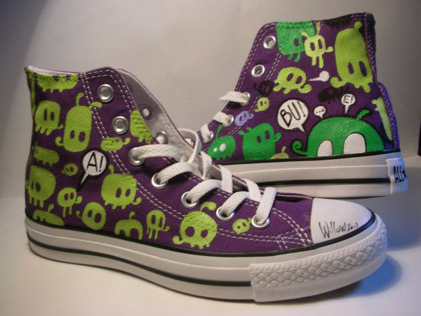 Willow, PURPLE CONVERSE