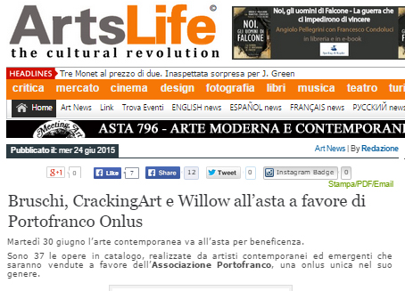 Willow su ArtsLife