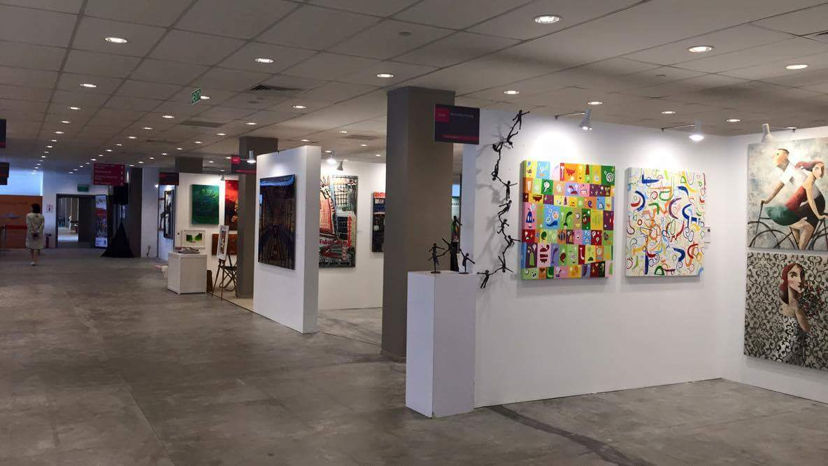 Willow at Affordable Art Fair Singapore