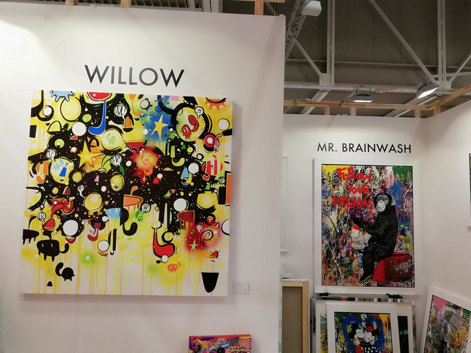 Willow all'Affordable Art Fair di Milano con Deodato Arte
