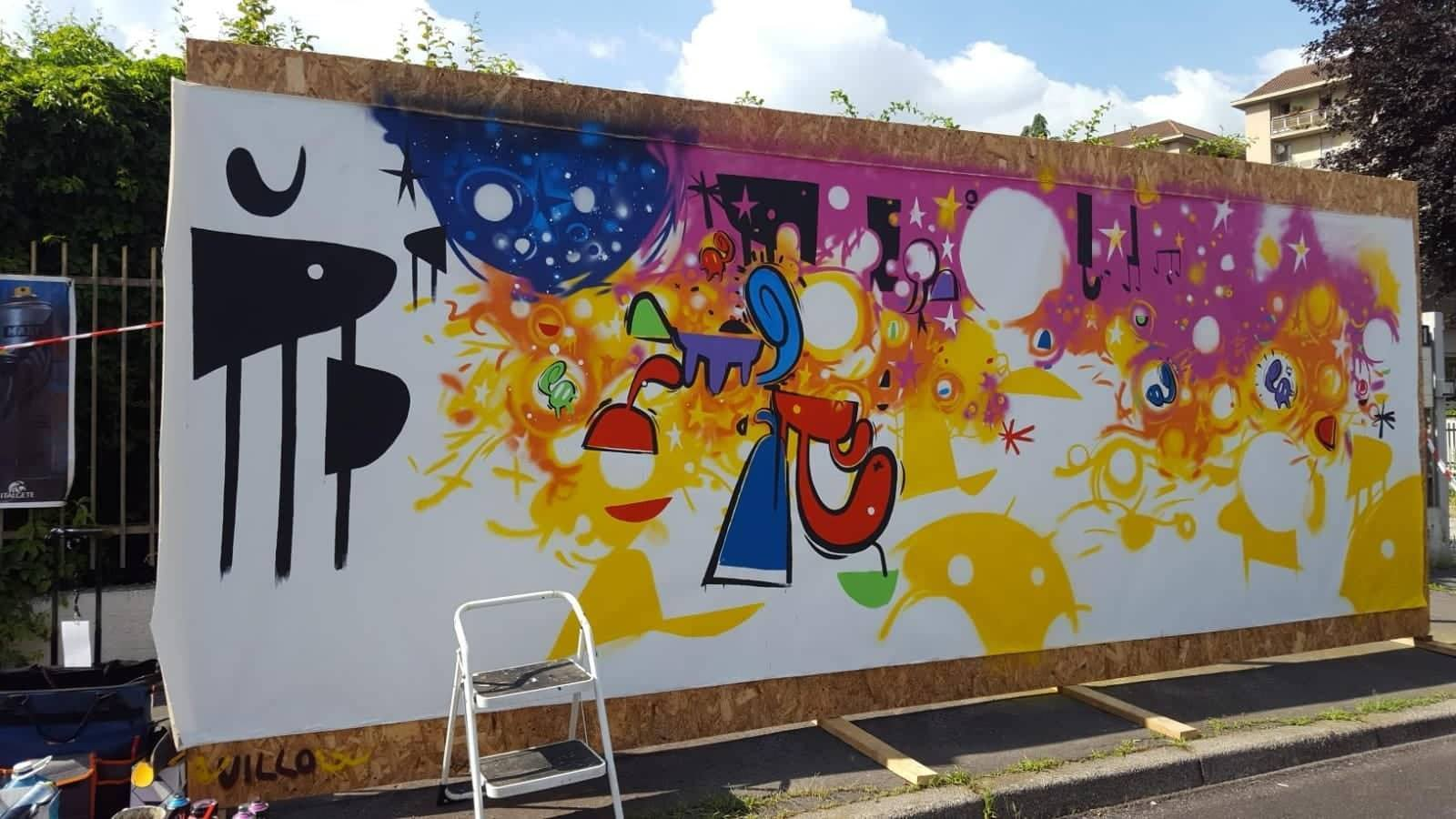 Willow al Looperfest & Zuartday 2018 - Work in progress