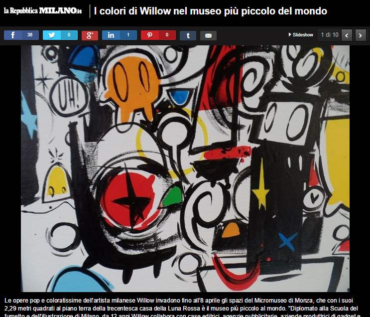 Willow su Repubblica