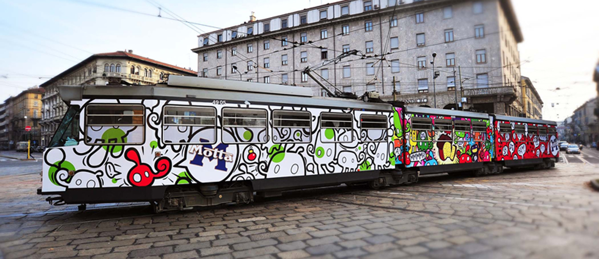 Willow's tram Motta, Milano